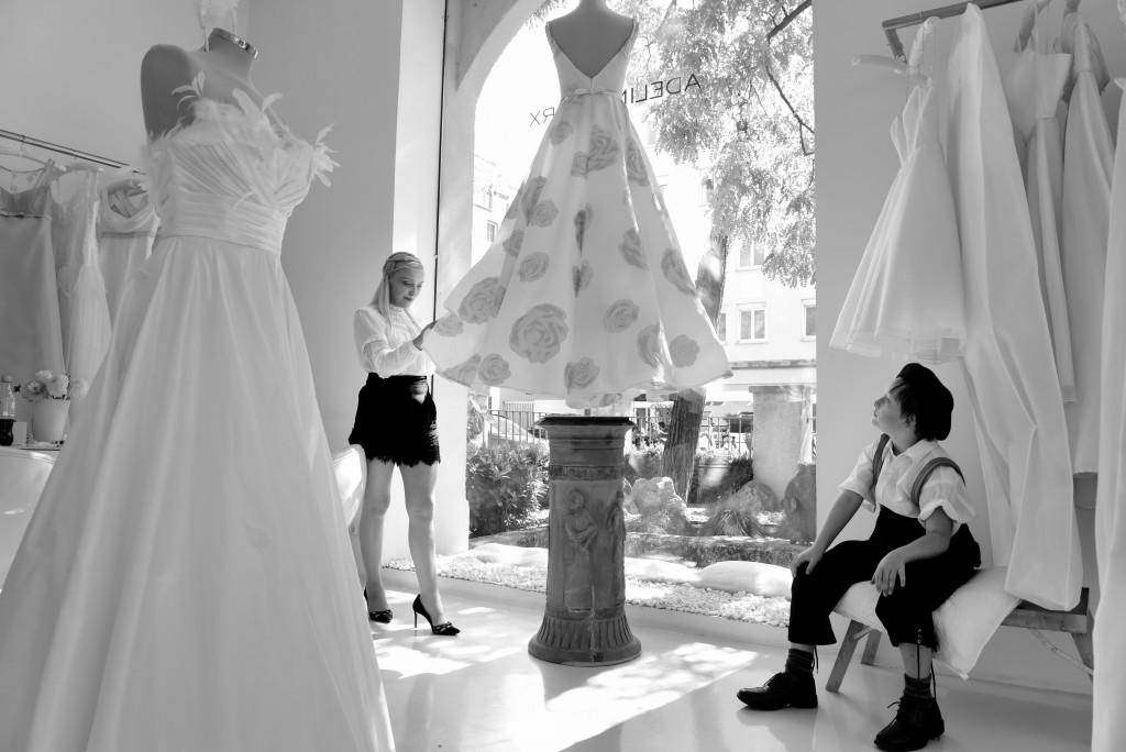 Adeline Marx , Haute Couture -Georgenstrasse